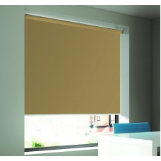 Dim-Out Chestnut Roller Blind- Extra Wide