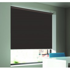 Dim-Out Smoke Roller Blind- Extra Wide
