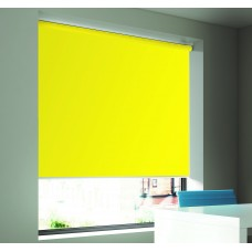 Dim-Out Canary Roller Blind- Extra Wide
