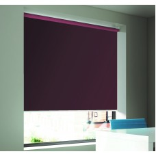 Dim-Out Plum Roller Blind- Extra Wide