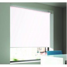 Dim-Out Snow Roller Blind- Extra Wide