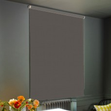 Dim-Out Cathedral Grey Roller Blind