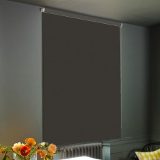 Dim-Out Deep Grey Roller Blind