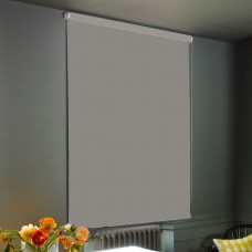Dim-Out  Pale Grey Roller Blind