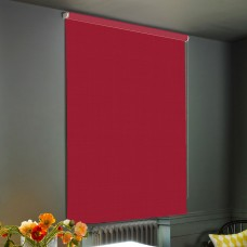 Dim-Out Raspberry Roller Blind