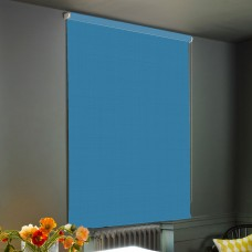 Dim-Out Teal Roller Blind